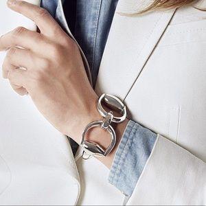 44465bcddb4 Gucci Horsebit Bangle BraceletLeather Name Bracelets